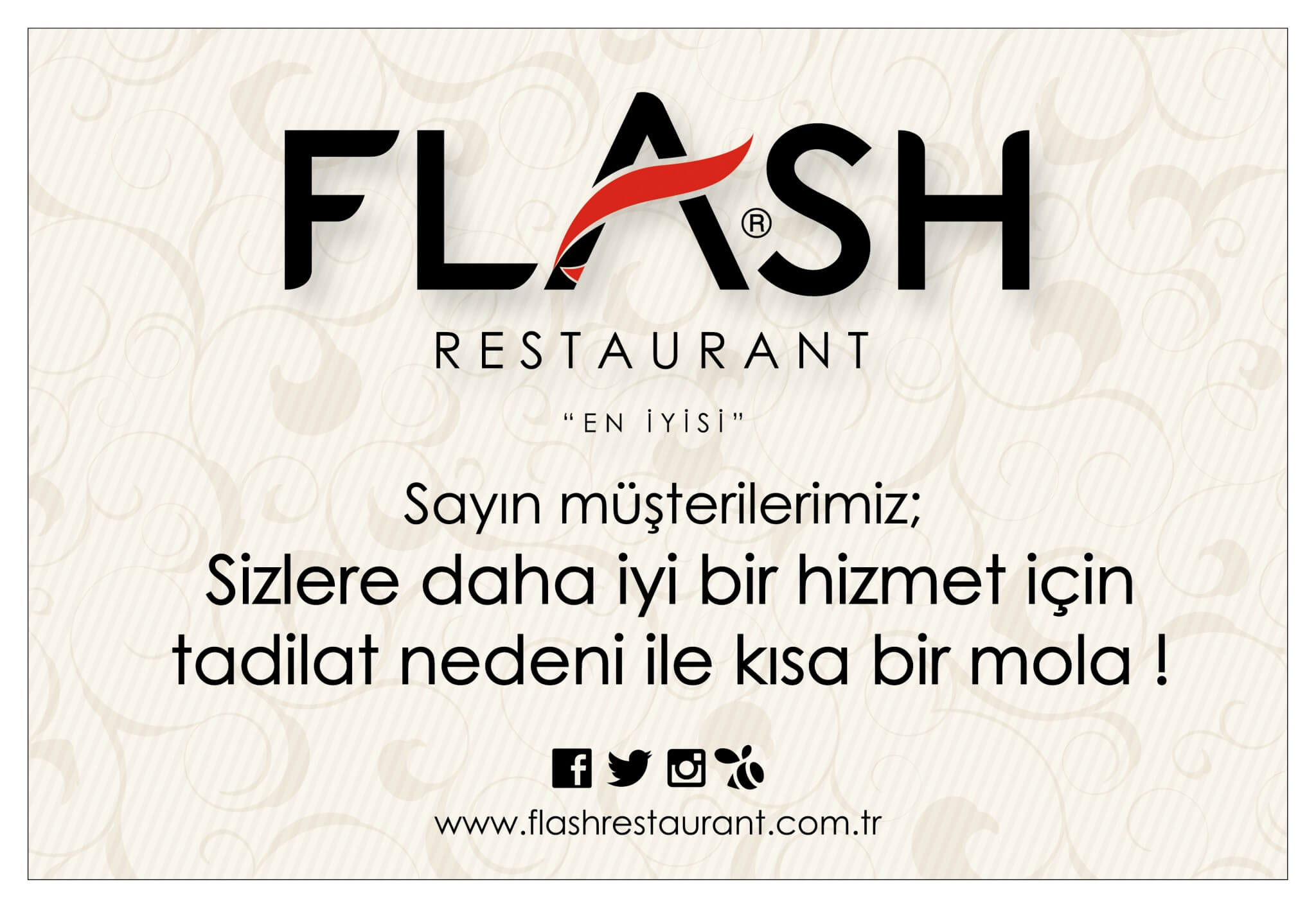 Flash Restaurant | Alanya