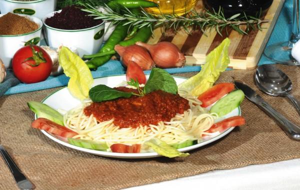 Spagetti kıymalı